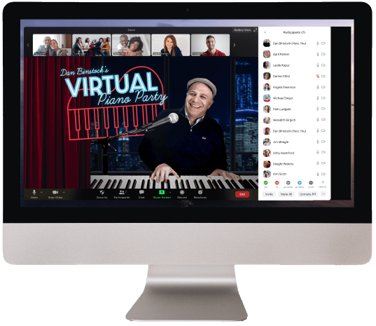 Welcome to Virtual Piano Party